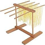Soporte de secado de pasta para fideos de madera, soporte para secador de pasta...