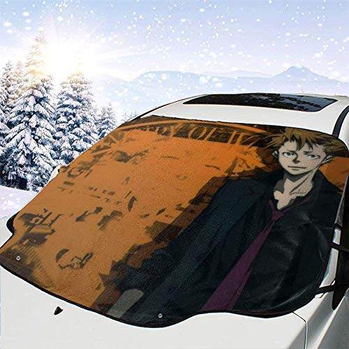 LREFON Visera de sombrilla automática para Parabrisas Delantero Impermeable Suite Pass-Shuusei Kagari Protector protección contra heladas Invierno vehículos