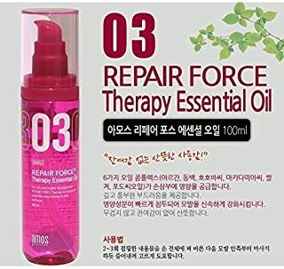 AMOREPACIFIC amos damage repair force therapy essential oil for damaged hair,made in Korea, kstyle