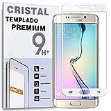 REY Protector de Pantalla Curvo para Samsung Galaxy S6 Edge Plus,...