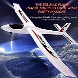 Leslaur FX707S Avion Main Lancement Planeur Plan jetant Avion Mousse Douce Avion Avion modèle Bricolage Jouets pour Enfants