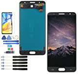 LCD for Samsung Galaxy J7 Prime LCD G610 G610F G610M Display Touch Screen Digitizer Assembly with Tools and B-7000 Glue(Black)