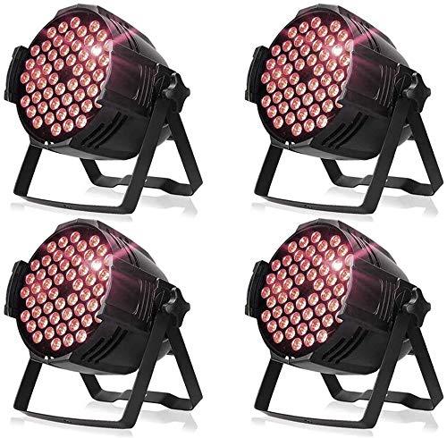 160W,LED Bühnenlicht,Disco LED Scheinwerfer,265V mit europäischem Stecker,Disco Farblichter,Karneval Party Lichter,Party,Konzert,Maskerade,Platz im Freien,etc 4PCS