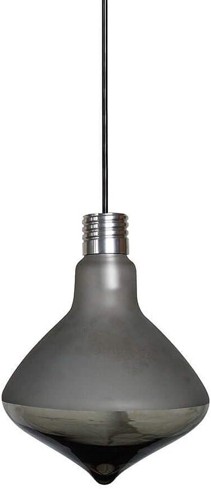 Karman makeup, lampada led a sospensione,in vetro fume` SE1232F INT
