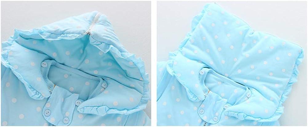Mornyray Sac de Couchage Bébé épais Modèles Automne et Hiver Blue
