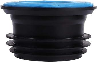 Wc-rubberen ring, geurneutrale rubberen afdichting, universele afvoerbuisafdichting, geurbestendig, voor schotels, duurzam...
