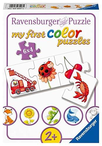 Ravensburger Kinderpuzzle  03007 - Alle meine Farben