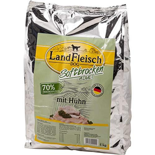 Landfleisch Dog Softbrocken mit Huhn, 1er Pack (1 x 5 kg)