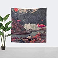 Stroll Space Women Astronaut Mandala Tapestry Wall Hanging Decor Yoga Carpet Abstract Wall Cloth Tapestries 150x150cm