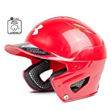 Under Armour Converge Batting Helmet - Solid Coated, RED