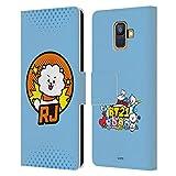 Head Case Designs sous Licence Officielle BT21 Line Friends RJ Badges Comics Pops Coque en Cuir à...