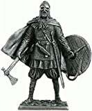 Viking Tin Soldiers Metal Sculpture Miniature Collectible Figurines 54 mm (Scale 1/32) (M149)