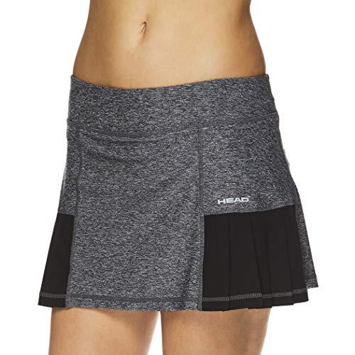 Head Damen-Tennisskort – Leistungs-, Trainings- & Laufrock - Schwarz - X-Klein