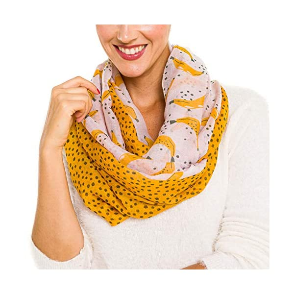 Infinity Scarf for Women Lightweight Fashion Scarves for Fall Winter