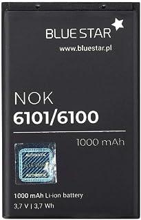 Blue Star Premium - Batería de Li-Ion litio 1000 mAh de Capacidad Carga Rapida 2.0 Compatible con el nokia 6101 / 6100 / 6300