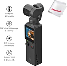 FIMI Palm XIAOMI 3 Axis Gimbal Stabilizer with 4K Smart Camera, 128° Ultra Wide Angle..