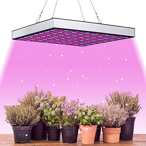 wolketon LED Pflanzenlampe 15W Pflanzenleuchte Pflanzenlicht 225 LEDs Grow Lampe mit Rot Blau Licht für Gewächshaus Wachstumslampe Pflanzen Lampe