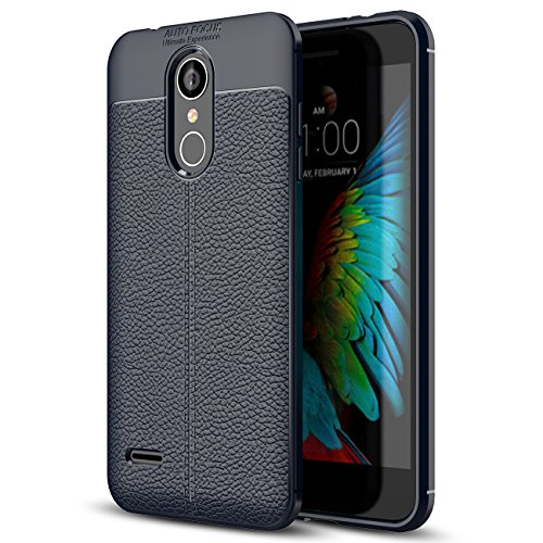 LG K9 Case, LG K9 Faux Leather Case, Soft Case Anti-Slip TPU Cover for 5.0'' LG K9