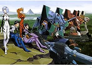 DV6458 Neon Genesis Evangelion Iron Maiden Eva Mecha Anime Manga Art 32x24 Print POSTER