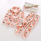 Zyf Netter Winter Nightgown Bademantel Flanell Kleidung Robes Jungen und Mädchen Printing...