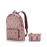 reisenthel mini maxi rucksack Sac à dos loisir, 45 cm, 14 liters, Rouge (Diamonds Rouge)