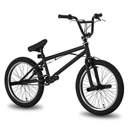 Bmx Bike Freestyle Bicicletta in acciaio da 20', doppia pinza freno Show Bike acrobatica, per ambiente urbano e pendolarismo da e per andare al lavoro