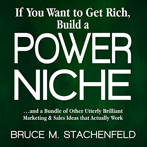 If You Want to Get Rich, Build a Power Niche audiobook cover art