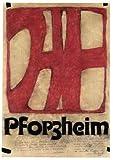 Germanposters Horst Janssen Pforzheim Poster Plakat