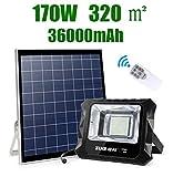 Tyn Solar Proyectores Led Exterior, Control Inteligente Paneles Solares Luces De Seguridad Camino Rural Reflector Solar Paisaje del Patio Lampara Solar Foco Led Solar Exterior (Size : 10W)