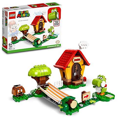 LEGO 71367 Super Mario Set de Expansión: Casa de Mario y Yoshi, Juguete de Construcción para Niños y Niñas +6 años