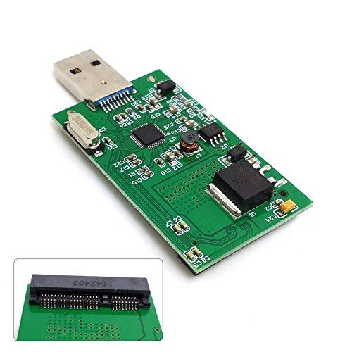 CY MINI PCI-E mSATA auf USB 3.0 externe SSD PCBA Conveter Adapter Karte