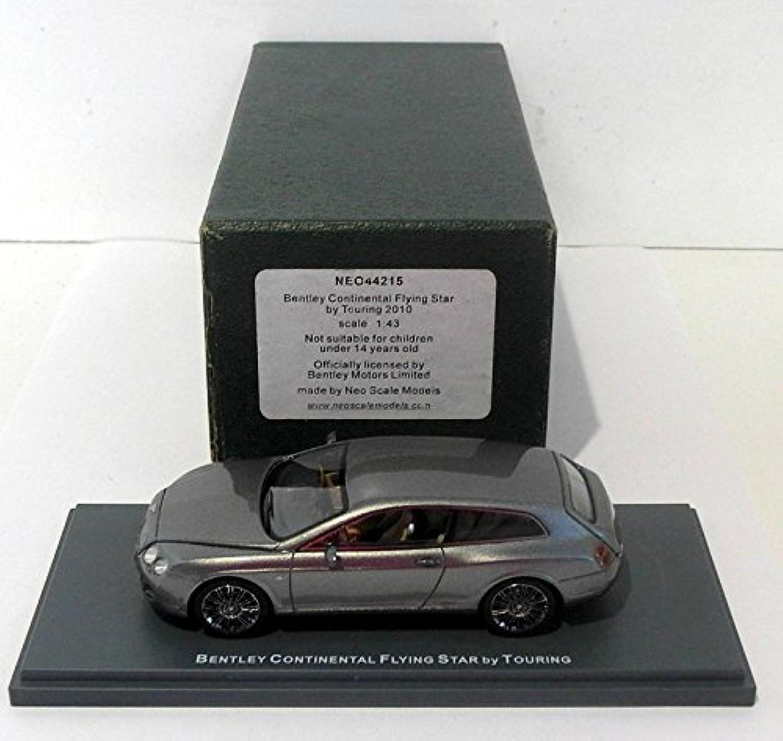 Bentley Continental Flying Star by Touring, met.-grün, 2010, Modellauto, Fertigmodell, Neo 1 43
