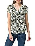 TOM TAILOR Damen 1024062 Print Bluse, 25990-Navy Burred Floral Design, 38