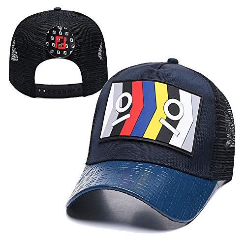 sdssup Sombrero de Red Casual Pareja Compras Gorra de béisbol Sombrero Curvo 11 Ajustable