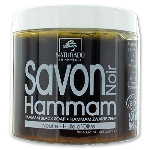 Naturado - Savon Noir Hammam Bio 200ml Naturado