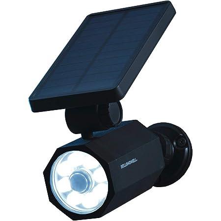 Solar Motion Sensor Light Outdoor TongWoDe IP66 Waterproof Wireless Solar Lights 800 Lumens Flood Light 5-Watt Security Spotlights with 120/°Solar Panel for Porch Garden Driveway Pathway