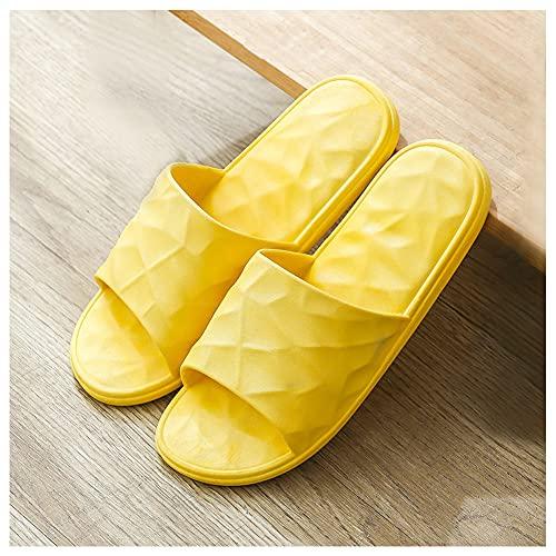 Zapatos de baño Zapatos de Playa Niño Niña Playa Zapatillas Sandalias Mujer Hombre Bañarse Verano Interior Zapatillas/Amarillo / 36/37