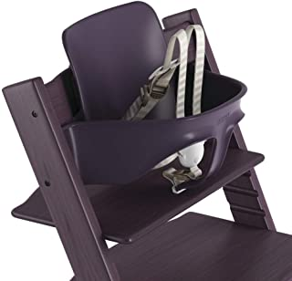 Stokke 2019 Tripp Trapp Baby Set, Includes Harness, Plum Purple