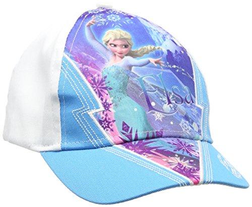 Disney Mädchen Frozen Kappe, Blau (Blue 16-4535TC), Einheitsgröße (Hersteller Größe:54)
