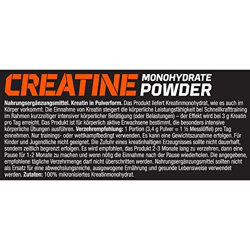 Olimp Creapure Monohydrat Powder, 1er Pack (1 x 500 g) - 5