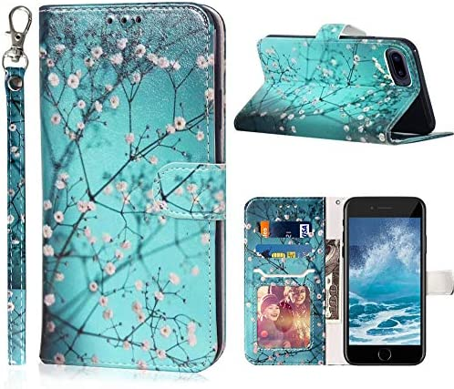 Designed for iPhone 8 Plus Wallet Case iPhone 7 Plus Wallet Case iPhone 6 6S Plus Case JanCalm product image