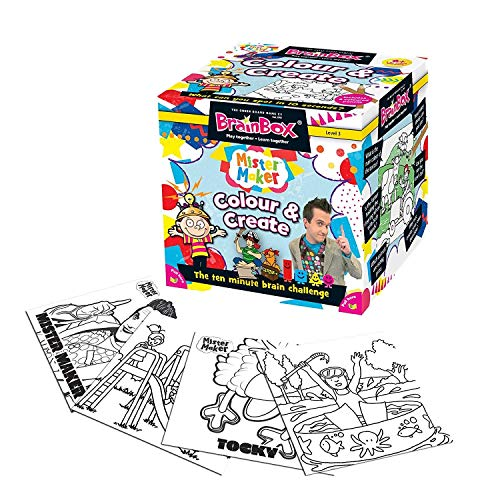 BrainBox - Mister Maker Colour and Create Memory Game by The Green Board Game Co.