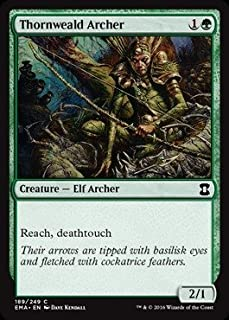 Magic: the Gathering - Thornweald Archer (189/249) - Eternal Masters