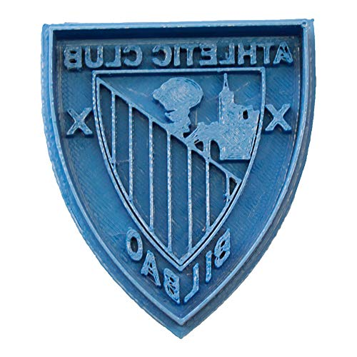 Cuticuter Fútbol Atletic De Bilbao Cortador de Galletas, Azul, 8x7x1.5 cm
