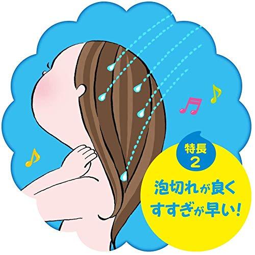 花王メリット『泡で出てくるシャンプーキッズ』