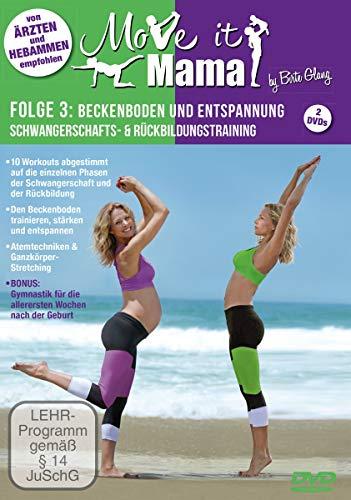 Move it Mama -Schwangerschafts- & Rückbildungstraining Folge 3: Beckenboden und Entspannung [2 DVDs]
