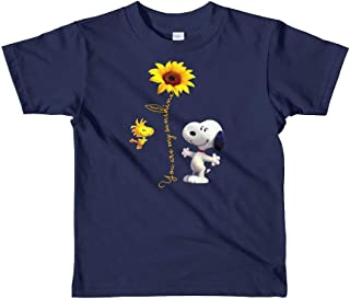 You are My Sunshine Kids Shirt-Cute Snoopy t-Shirt for Baby Kids-Snoopy Onesie