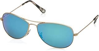 RB3562 Chromance Mirrored Aviator Sunglasses