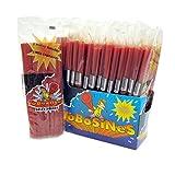 Tobosines - Geles Dulces - Regaliz rojo sabor fresa - Cajita de 15 unidades