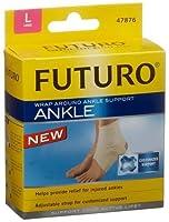 Futuro 足首のサポート、ラップアラウンド、大、1つのサポート(3パック)
